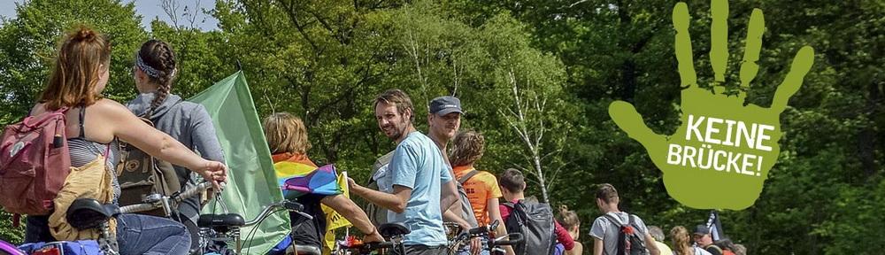 Fahrraddemo in Neu Darchau